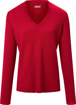 include V-neck jumper long sleeves include red