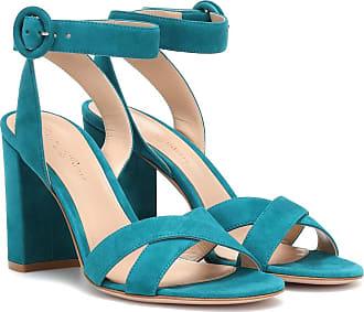 Gianvito Rossi Frida suede sandals