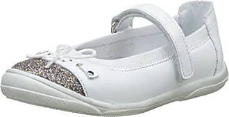 Blanc 29 janes Blanc Kiriss Babybotte EU Fille Glitter Mary F0zI7H