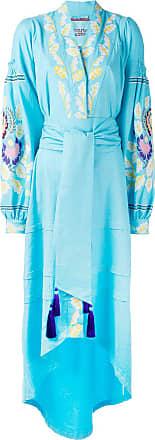 Yuliya Magdych Eden Tree dress - Blue