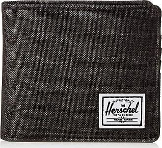 Herschel Herschel Unisex-Adults Hans Coin XL RFID Wallet, Black Crosshatch, One Size