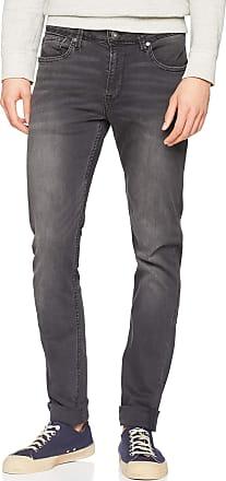 Pepe Jeans London Mens Finsbury Skinny Jeans, Black (Denim We3), 33W / 32L