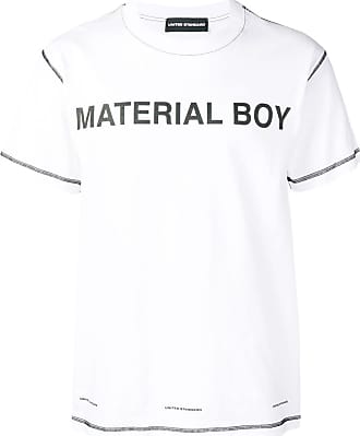United Standard material boy T-shirt - Branco