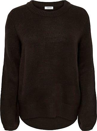 Jacqueline de Yong Jacqueline de Yong Womens Knitted Jumper Plain - Brown - X-Small