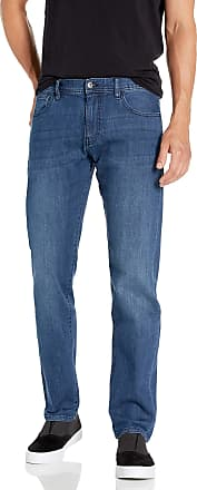 A X Armani Exchange Mens Cotton Stretch Indigo, Straight Jeans, Blue (Denim Indaco 1500), W36/L32 (Size: 36)