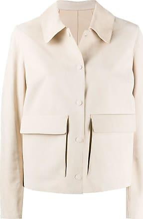 Yves Salomon press-stud jacket - NEUTRALS