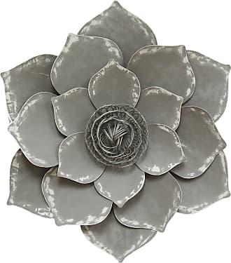 Stratton Home Decor S03897 Centerpiece Antique Silver 40.25 W x 1.75 D x 22.50 H
