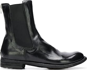Officine Creative zipped back Chelsea boots - Black