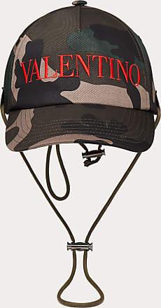 Valentino Garavani Valentino Garavani Uomo Cotton Camouflage Baseball Cap Man Military Green Cotton 100% 57