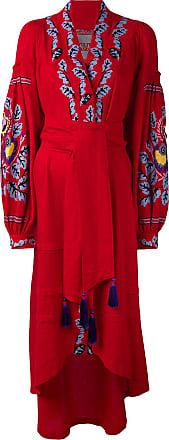 Yuliya Magdych Eden Tree dress - Red