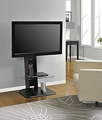 Dorel Home Products Ameriwood Home Galaxy TV Stand with Mount for TVs up to 50, Black