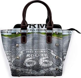 Browncin Route 66 Marker Detachable Fashion Trend Ladies Handbag Shoulder Bag Messenger Bags