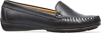 Van Dal Jemima X Wide E Fit Leather Loafer, Black Tumbled, Size 36 EU