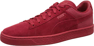 quality design 4aae6 c378d Puma Suede Classic Casual Emboss, Unisex Adults Low-Top Trainers, Red  (Cherry