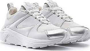 HUGO BOSS Sneakers mit Veloursleder und Mesh-Details