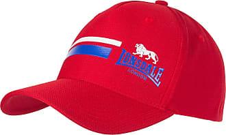 Lonsdale Mens Mesh Cap Baseball Breathable Lightweight Training Red Mens