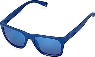 22aa216a992 Lacoste Mens L816S Rectangular Sunglasses Matte Blue 54 mm