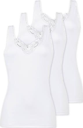 Naturana Pack Of 3 Womens Cotton Vest 2501 White UK 20/2XL