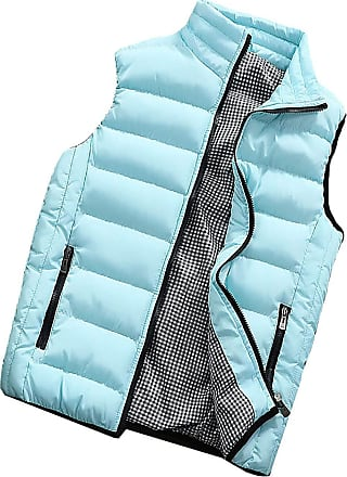 Vdual Men Autumn Winter Down Padded Gilet Sleeveless Body Warmers Hooded Vest with Zipper