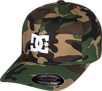 DC Mens Cap Star 2 Flex FIT HAT Baseball, Camo, Small/Medium