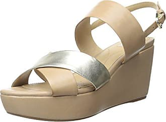 Geox Womens D Thelma, Taupe/Light Gold, 38 EU/8 M US