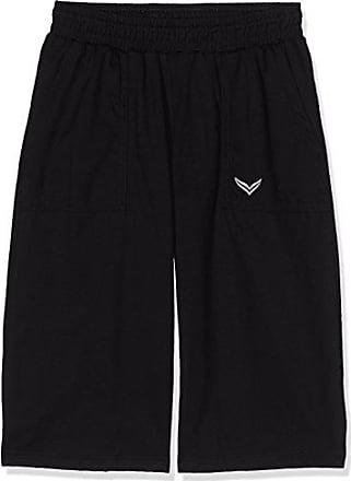 Trigema Herren Bermuda Deluxe Baumwolle-Pantaloni Sportivi Uomo Nero 42 4719e26de2db