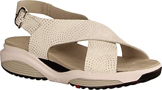 Xsensible Xsensible Corfu White/Silver Hypnot (White) - Sporty Sandals - Womens Sandals - Comfortable / Loose Insert - White Leather White Size: 6 UK