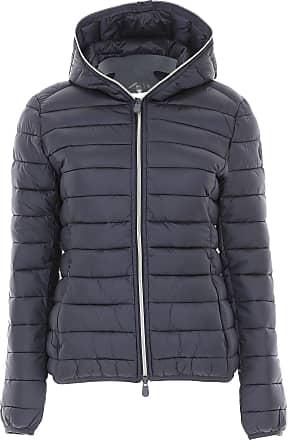 29dbbcf4c24fcd Save The Duck Daunenjacke für Damen, wattierte Ski Jacke Günstig im Sale,  Blau,