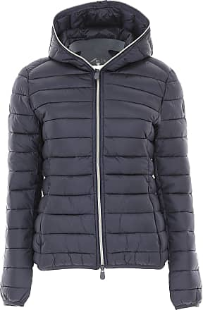 69526eae178c81 Save The Duck Daunenjacke für Damen, wattierte Ski Jacke Günstig im Sale,  Blau,
