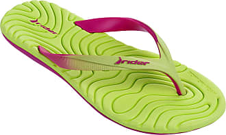 f89e917eee41f Rider Womens Smoothie IV FEM Synthetic Thong Sandals Pink-Yellow Size EU 39  - UK