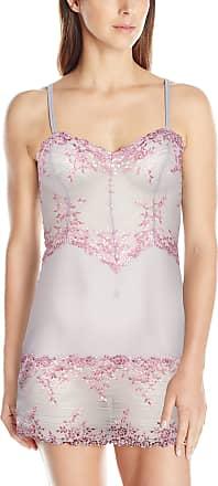 Wacoal Womens Embrace Lace Chemise, Lilac Gray/Multi, S