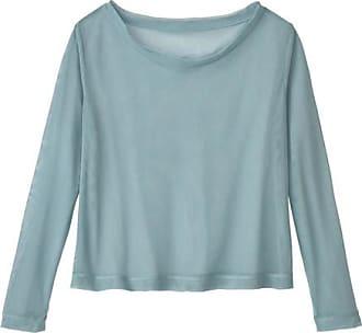 Enna Tüllshirt aus Bio-Baumwolle, wasserblau