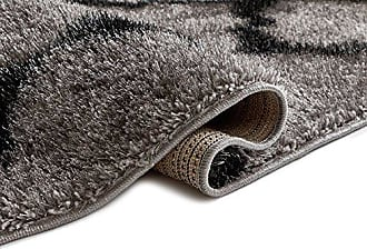 Well Woven CO-47 Soft Artisan Corsa Humble Modern Moroccan Lattice Shag Grey Thick Area Rug 33 x 5, 33 x 5