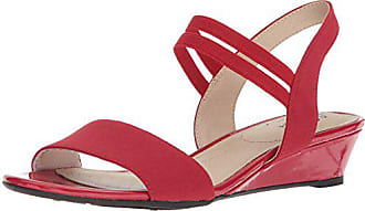549897a22c Life Stride Womens YOLO Wedge Sandal, red, 5.5 M US