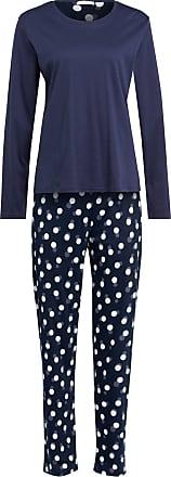 Mey 7/8-Schlafanzug Serie HEDY - BLAU/ WEISS