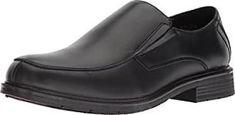 Dr. Scholls Mens Jeff Loafer, Black Leather, 8.5 M US