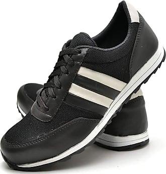 Juilli Sapatênis Sapato Casual Masculino Com Cadarço JUILLI 01DB Tamanho:41;cor:Preto;gênero:Masculino