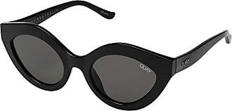 Quay Eyeware Goodnight Kiss (Black/Smoke) Fashion Sunglasses