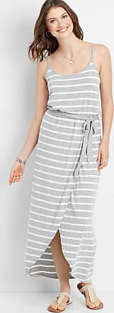 Maurices Stripe Tulip Hem Maxi Dress
