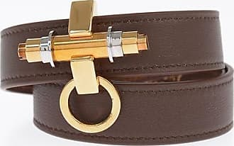 Givenchy Leather 3 ROW OBSEDIA bracelet size M
