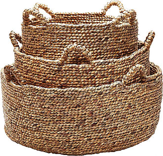 Dimond Home ELK Home Signature Low Rise Basket in Brown