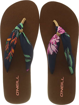 O'Neill Fw ditsy sun sandalen, womens Flip Flops, Multicoloured Red Aop W Blue 3950, 7/8UK (41 EU)