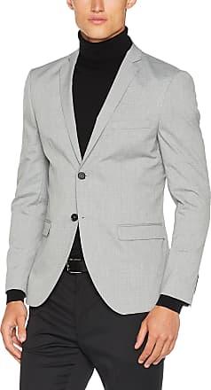 Selected HOMME Mens Shdnewone-mylologan1 Light Grey Blz Noos Suit Jacket, Grey (Light Grey Melange), 44R UK (54 EU)