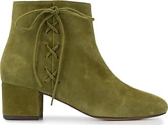Tila March Ankle boot com cadarço - Verde