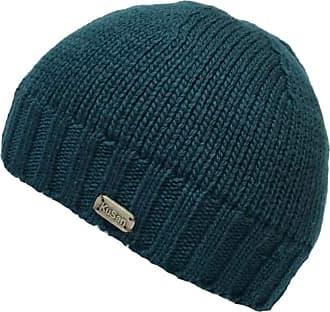 KuSan 100% Merino Wool Pull On Beanie Fisherman Hat PK1826 (Teal)
