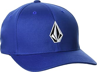 Volcom unisex-adult mensD5511105Full Stone Six Panel Xfit Flexfit Hat Baseball Cap - Blue - Large-X-Large