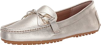 Lauren Ralph Lauren Lauren by Ralph Lauren Womens Briley II Driving Style Loafer, Platino, 7 UK