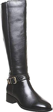 Office Karter- Rider Knee Boot Black Leather - 3 UK