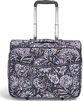 Vera Bradley Iconic Rolling Work Bag, Lavender bouquet