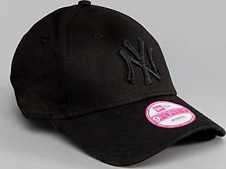 New Era 9Forty Black Cap with Tonal NY Logo - Black 66aadb68779
